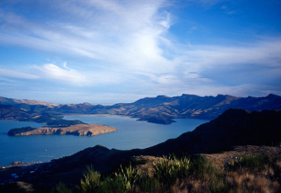 From Print to Ebook for Cry of the Kiwi: A Family's New Zealand Adventure: :Lyttelton Harbour and Quail Island, South Island, New Zealand (©Vilis Nams)