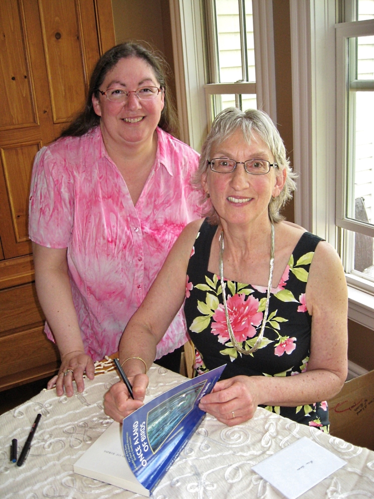 With author Julia Phillips Smith