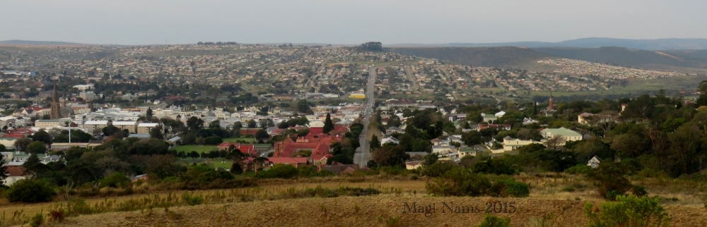 Six Months in South Africa: First Impressions of Grahamstown: Grahamstown, viewed from 1820 Settlers National Monument