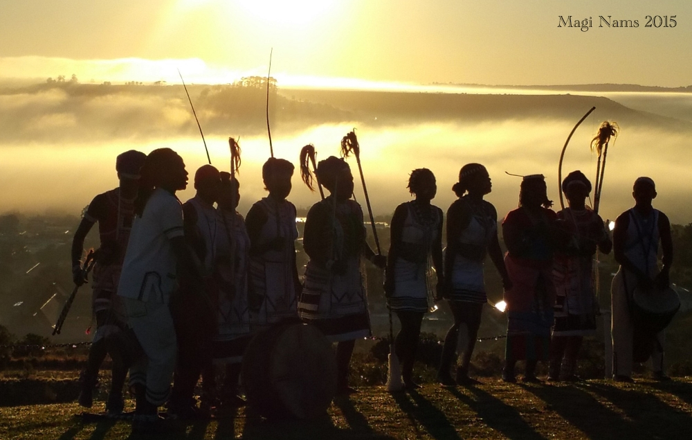 Six Months in South Africa: Great Cell Phone Images of Eastern Cape: Sunrise Performance, National Arts Festival, Grahamstown (© Magi Nams)