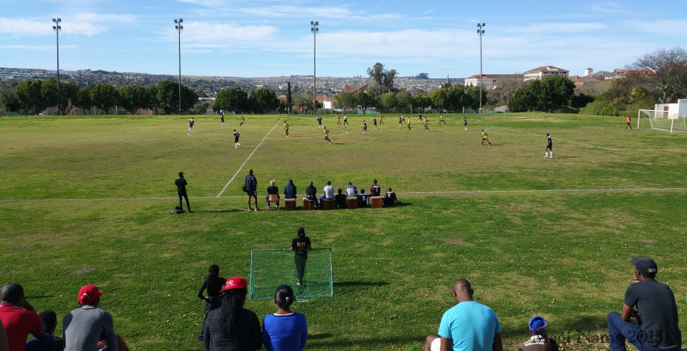 Six Months in South Africa: Great Cell Phone Images of Eastern Cape: Soccer on King Field, Rhodes University (© Magi Nams)
