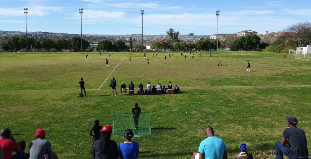 Soccer on King Field, Rhodes University (© Magi Nams)