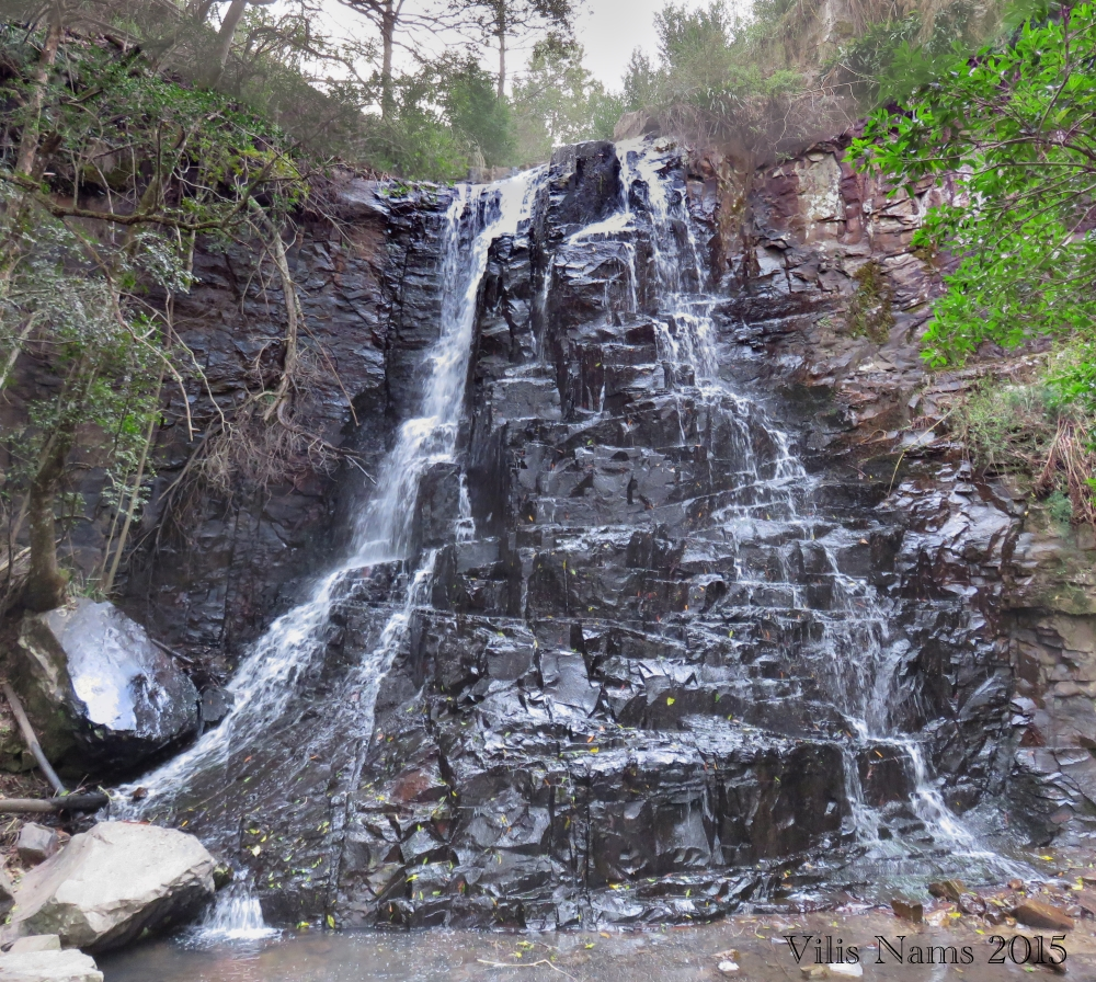 Six Months in South Africa: Hiking at Hogsback: 39 Steps Waterfall in Hogsback (© Vilis Nams)