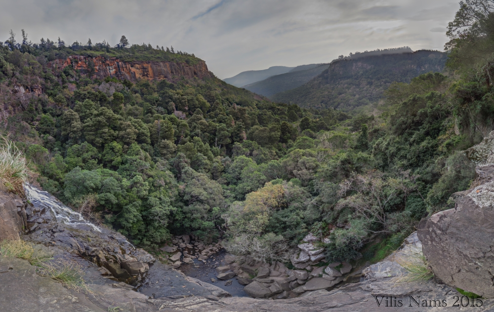 Six Months in South Africa: Hiking at Hogsback: Lookout View in Hogsback (© Vilis Nams)