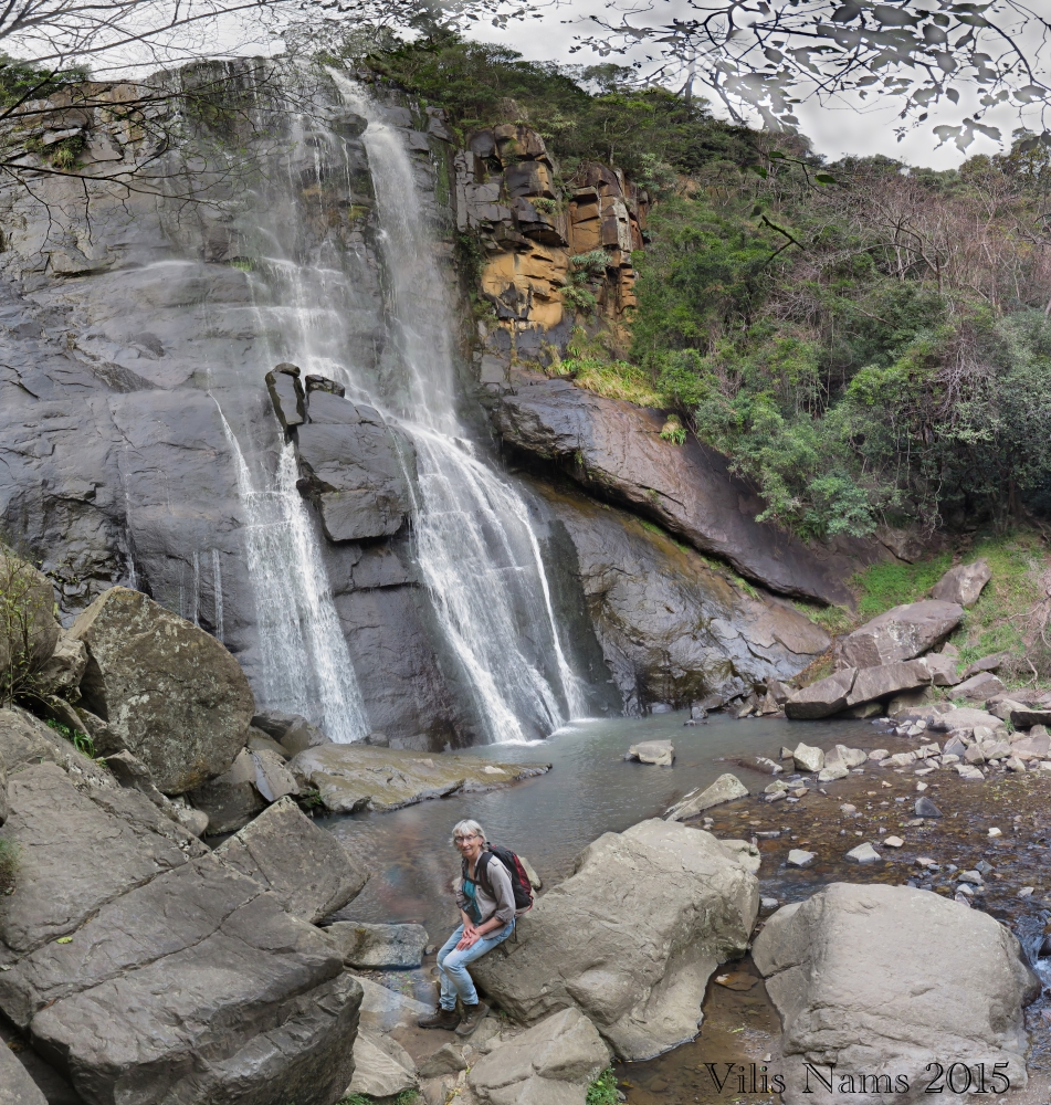 Six Months in South Africa: Hiking at Hogsback: Madonna and Child Falls in Hogsback (© Vilis Nams)