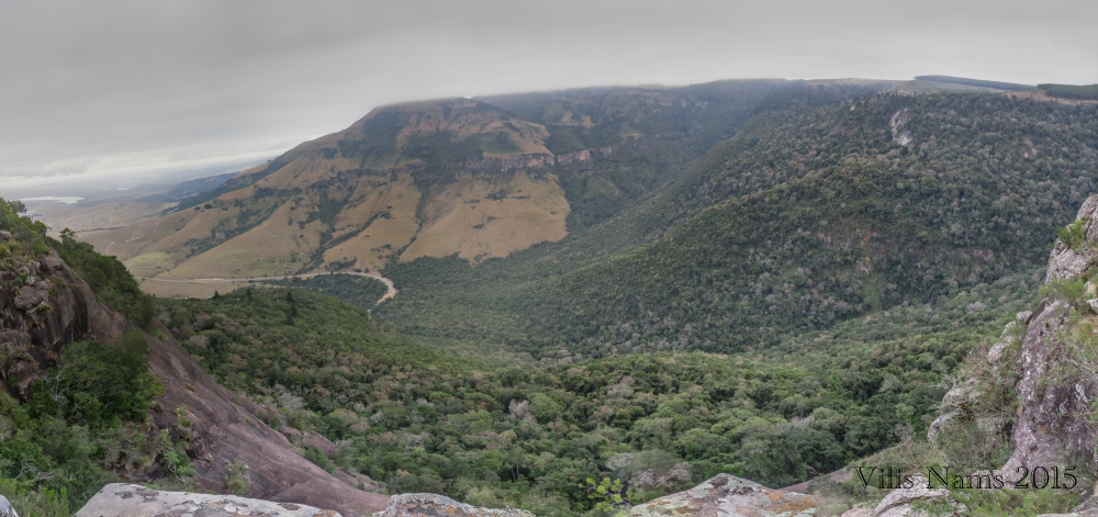 Six Months in South Africa: Hiking at Hogsback: Tyume Valley seen from the Bluff, Hogsback (© Vilis Nams)