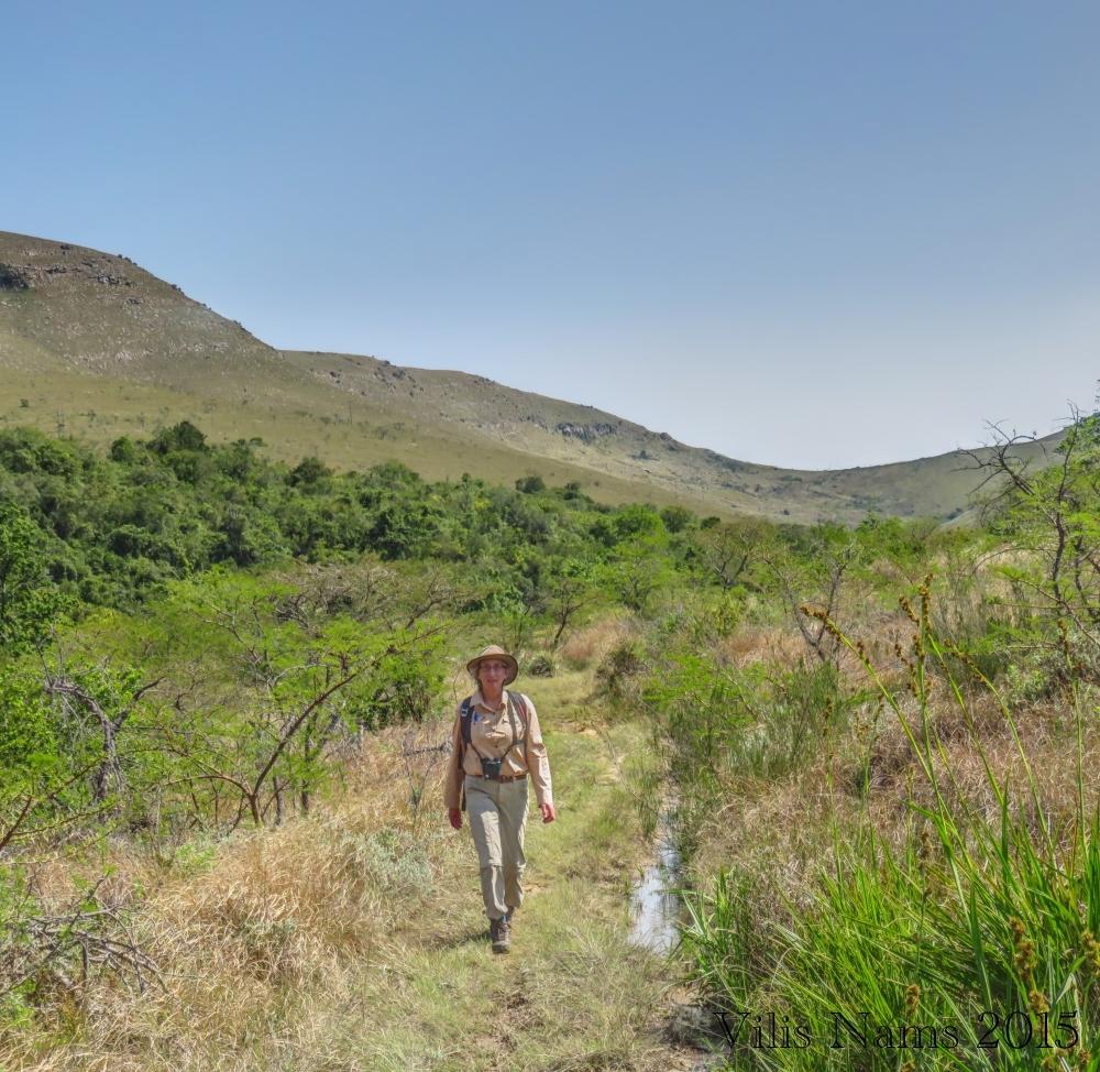 Hiking through Featherstone Kloof (© Vilis Nams)
