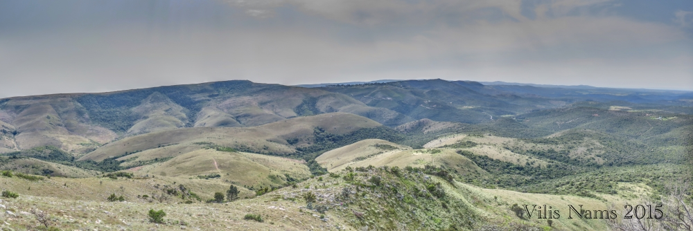 Six Months in South Africa: Hiking Oldenburgia Trail: View on desent from west end of Oldenburgia Trail (© Vilis Nams)