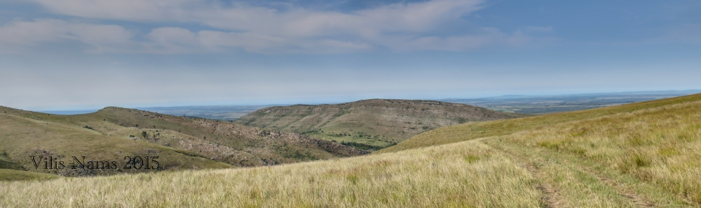 Six Months in South Africa: Hiking Oldenburgia Trail: View to the west from near the summit of Oldenburgia Trail (© Vilis Nams)