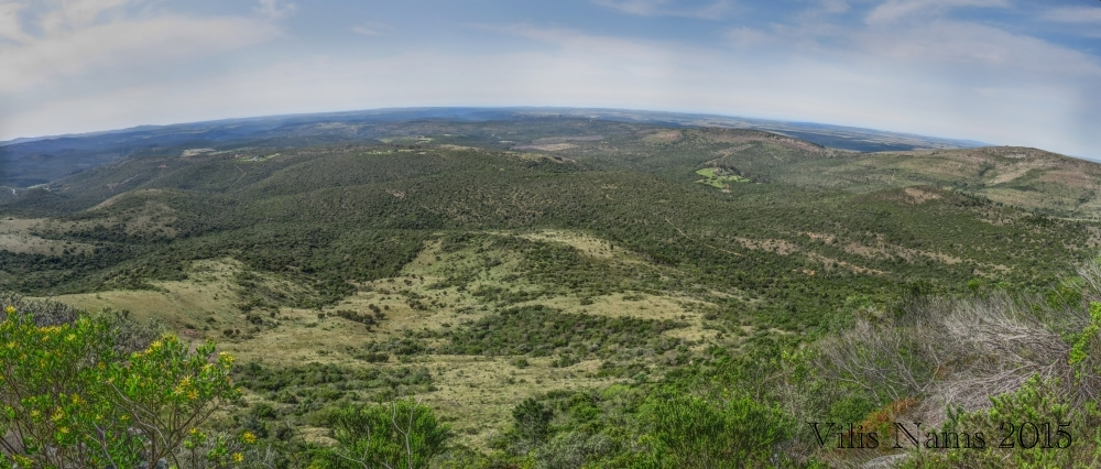 Six Months in South Africa: Hiking Oldenburgia Trail: Panoramic View from Oldenburgia Trail (© Vilis Nams)