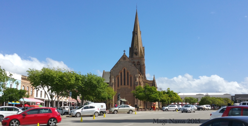 Six Months in South Africa: Reflections on Three Months in South Africa: Downtown Grahamstown, South Africa (© Magi Nams)