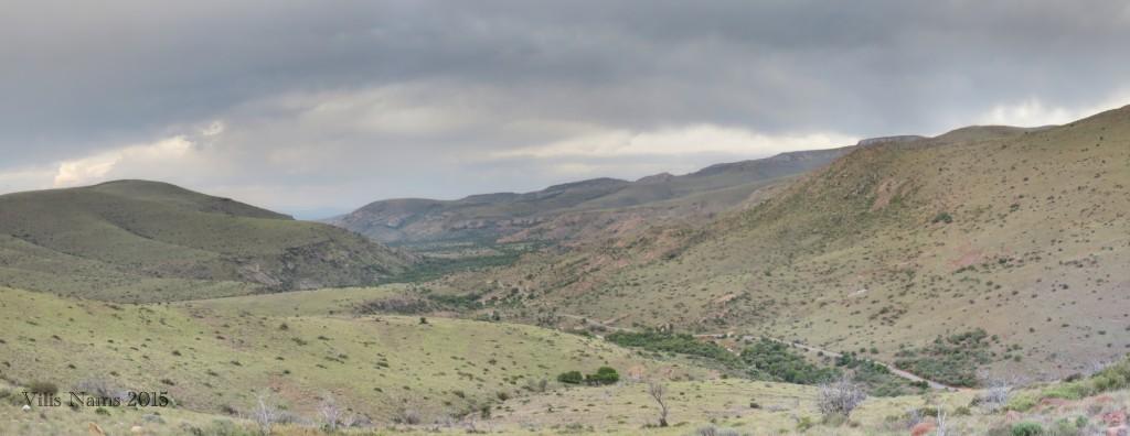 Six Months in South Africa: Mountain Zebra National Park: Kranskop Loop View (© Vilis Nams)