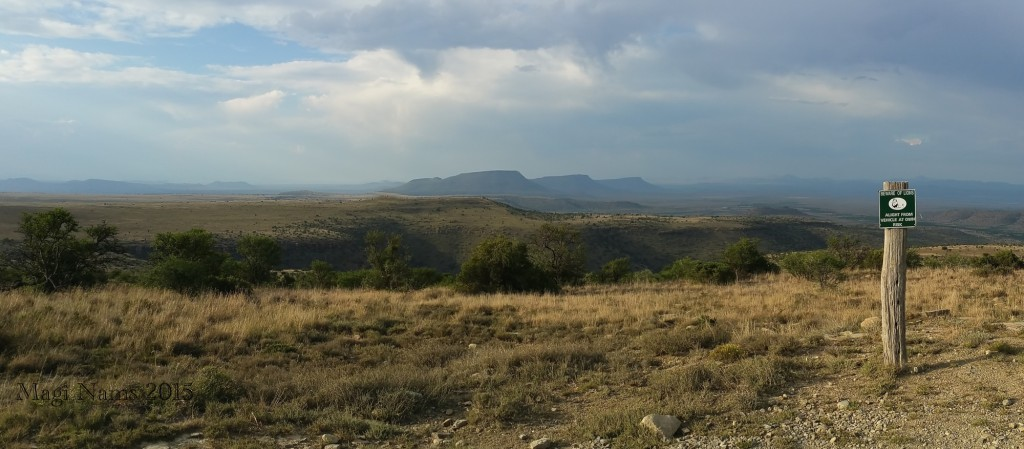 Six Months in South Africa: Mountain Zebra National Park: Mountain Zebra National Park, viewed from Kranskop Loop (© Vilis Nams)
