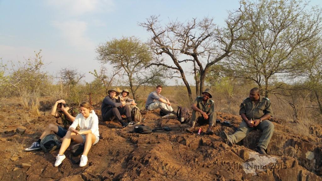 Six Months in South Africa: Kruger National Park: Rest Stop on Morning Walk (© Vilis Nams)