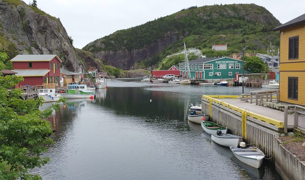 Exploring Canada: St. John's, Newfoundland and Labrador – City on the Eastern Tip of North America; Quidi Vidi, St. John's (© Magi Nams)