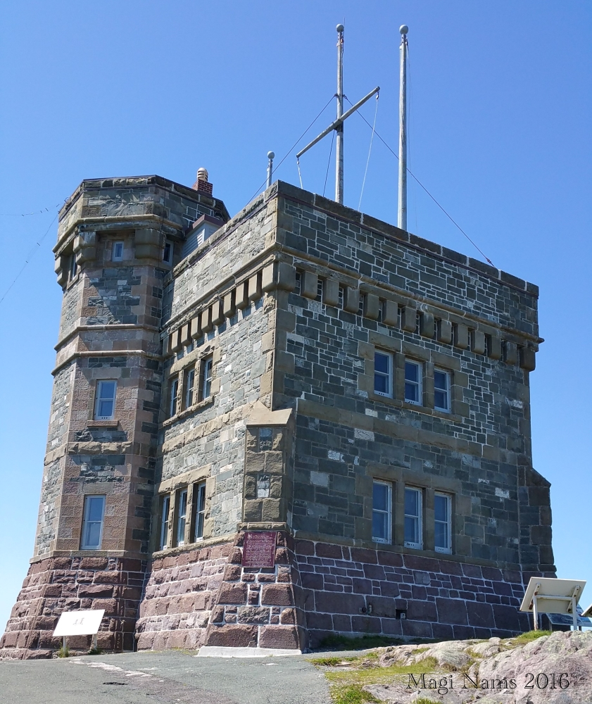 Exploring Canada: St. John's, Newfoundland and Labrador – City on the Eastern Tip of North America: Cabot Tower, Signal Hill National Historic Site of Canada (© Magi Nams)