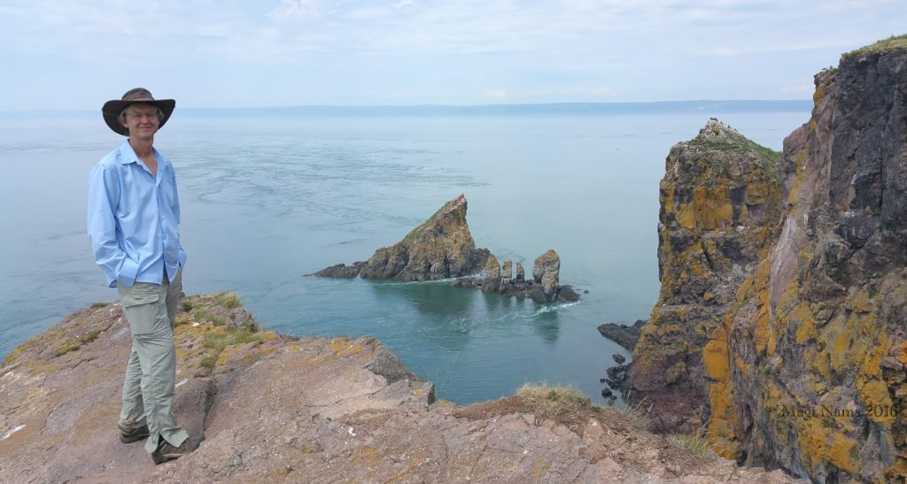 Hiking in Canada: Cape Split, Nova Scotia: At Cape Split ( ©Magi Nams)