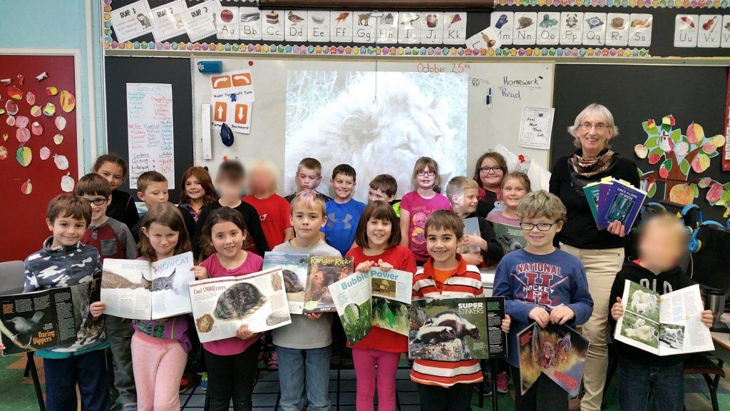 Writers in the Schools visit to Cobequid District Elementary School