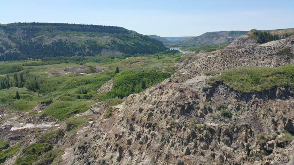 Hiking in Canada: Dry Island Buffalo Jump Provincial Park, Alberta: The Red Deer River Valley (©Magi Nams)