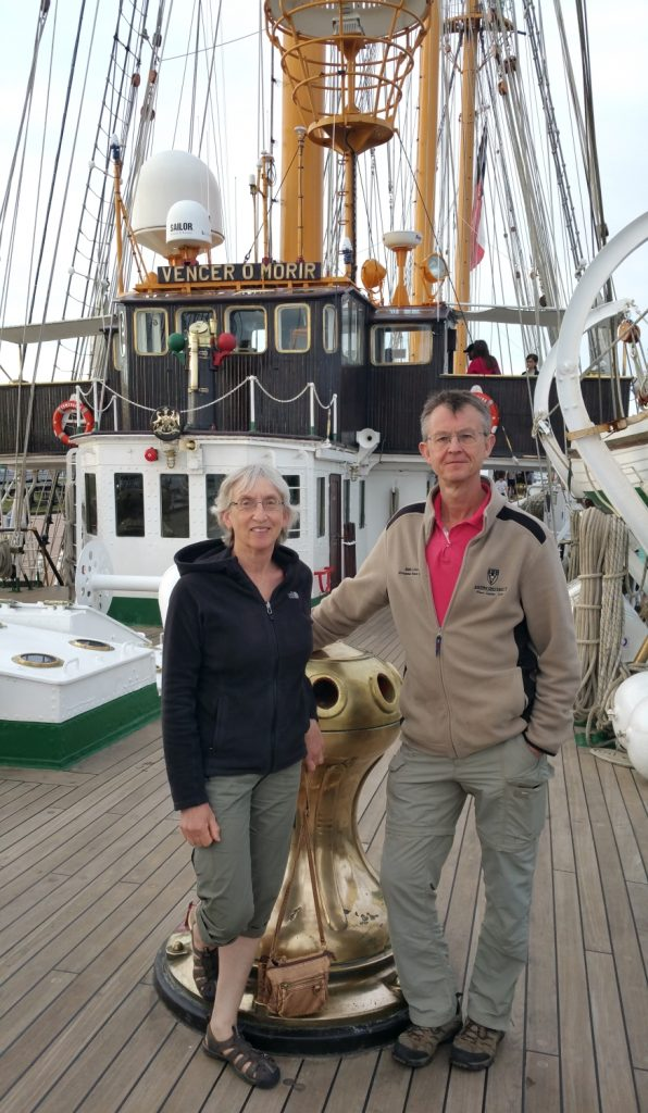 Images from Prince Edward Island: Onboard Chilean Naval Training Tall Ship Esmeralda