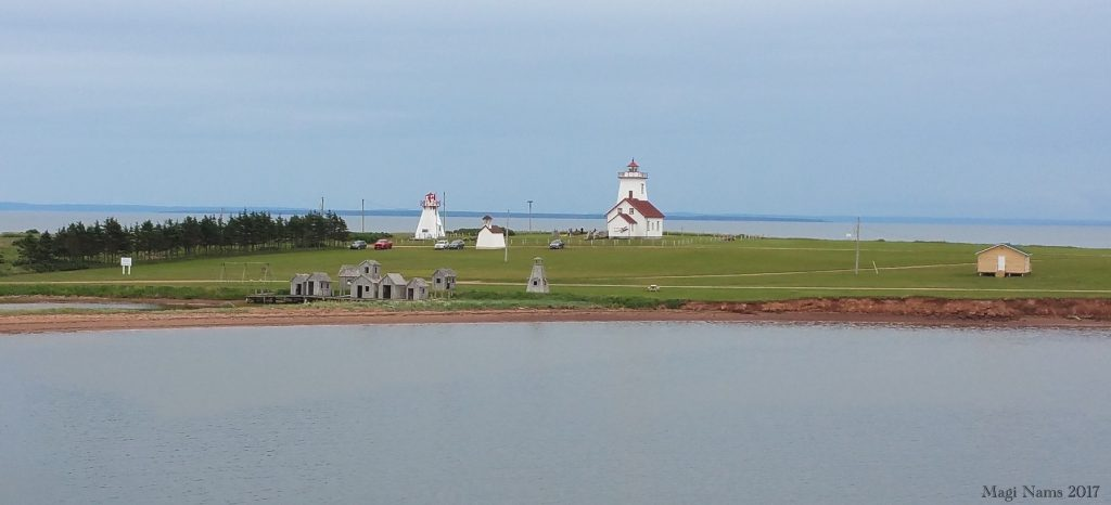 Images from Prince Edward Island: Lighthouse at Wood Islands, Prince Edward Island (©Magi Nams)