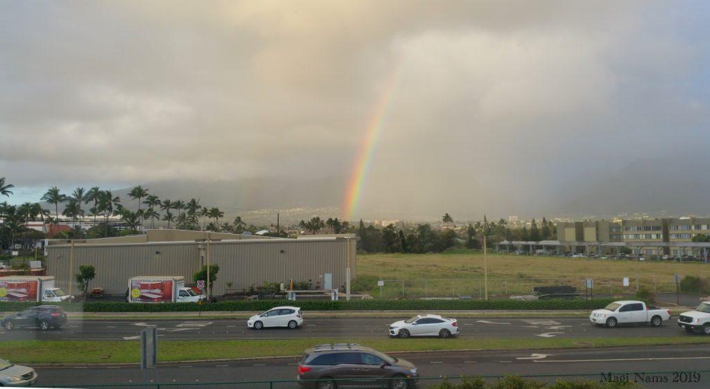 Exploring America: Maui, Hawai'i: Rainbow over Kahului, Maui (© Magi Nams)