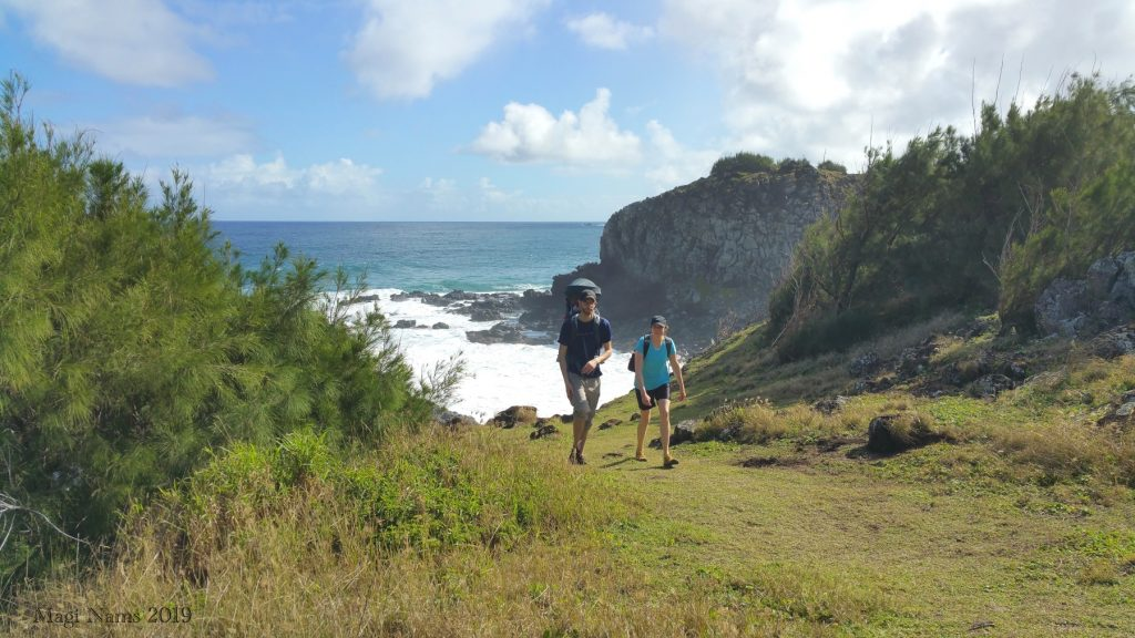 Hiking in America: Coastal West Maui, Hawai'i: Coastal West Maui near Two-tiered Tide Pools of Honolua, Hawai'i (© Magi Nams)