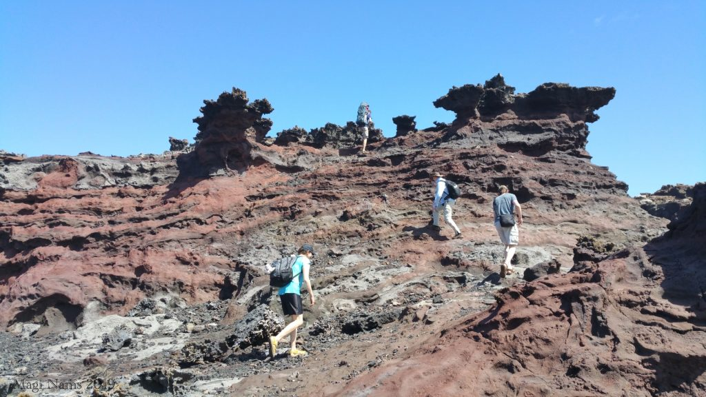 Hiking in America: Coastal West Maui, Hawai'i: Acid War Zone Rock Formations, Maui, Hawai'i (© Magi Nams)
