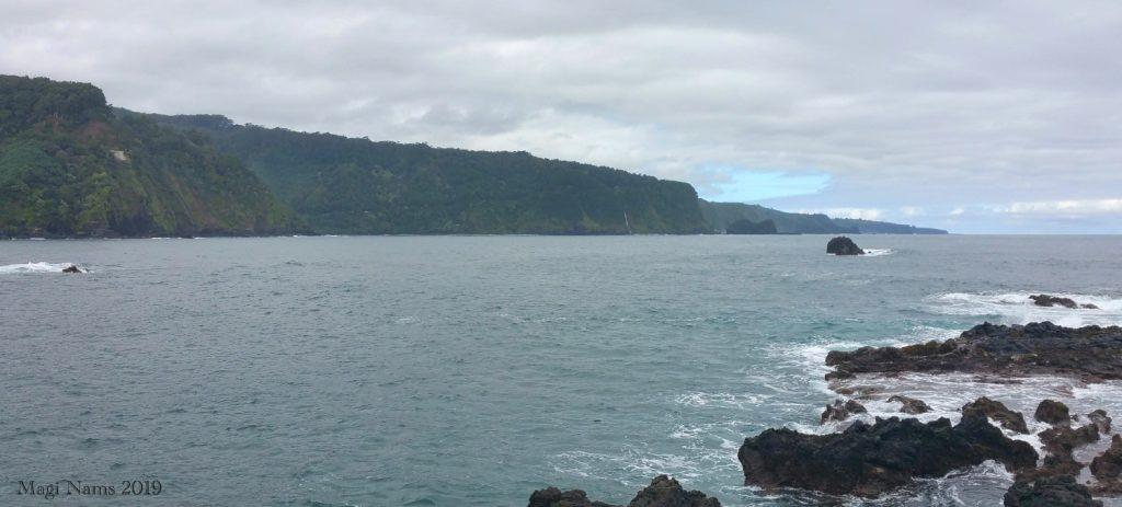 Exploring America: Maui, Hawai'i: Coastal Cliffs viewed from Ke'anae Point, Maui, Hawai'i (© Magi Nams)