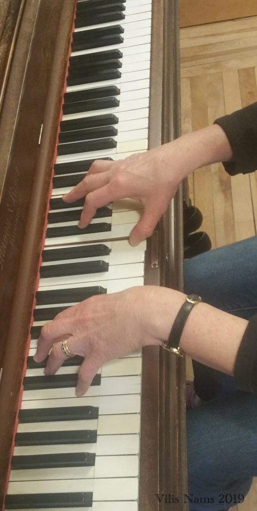 What Playing Piano Taught Me About Faithfulness: At My Piano (© Vilis Nams)