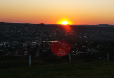 Six Months in South Africa: Nelson Mandela International Day 2015: Winter Sunrise over Grahamstown, South Africa (© Magi Nams)
