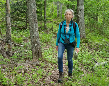 Hiking in Canada: Hiking at Wallace Bay National Wildlife Area, Nova Scotia (© Vilis Nams)